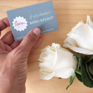 bono tarjeta regalo Sinu Fisioterapia